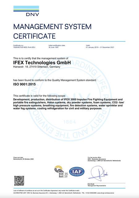 ISO 9001:2015 certification (PDF)